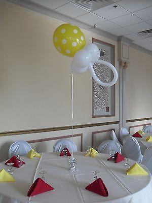 Baby Shower Centerpiece Balloon Pacifier Decoration Kit - DIYs (Baby Shower Centerpieces Diy)