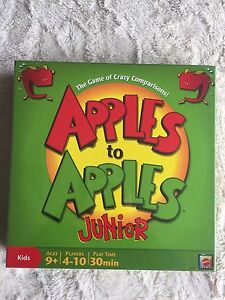 Apples to Apples Junior board game - sealed new in box