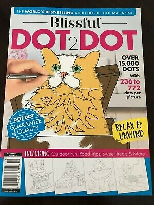 Adult Connect The Dots (Adult Blissful Dot to 2 Dot Activity Book Connect the)