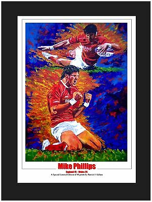 Mike Phillips Wales Limited Edition