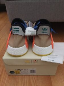 PW HUMAN RACE NMD TR : PALE NUDE - SIZE 12 US MENS