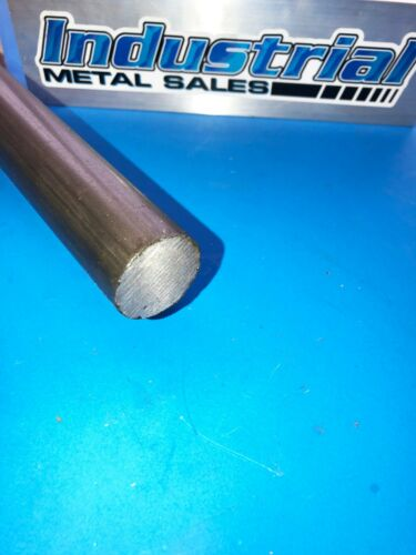 "1-1/4"" Diameter x 12""-Long 12L14 Steel Round Bar-->1.250"" Dia 12L14 Steel Rod"