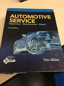 Red river college automotive text book