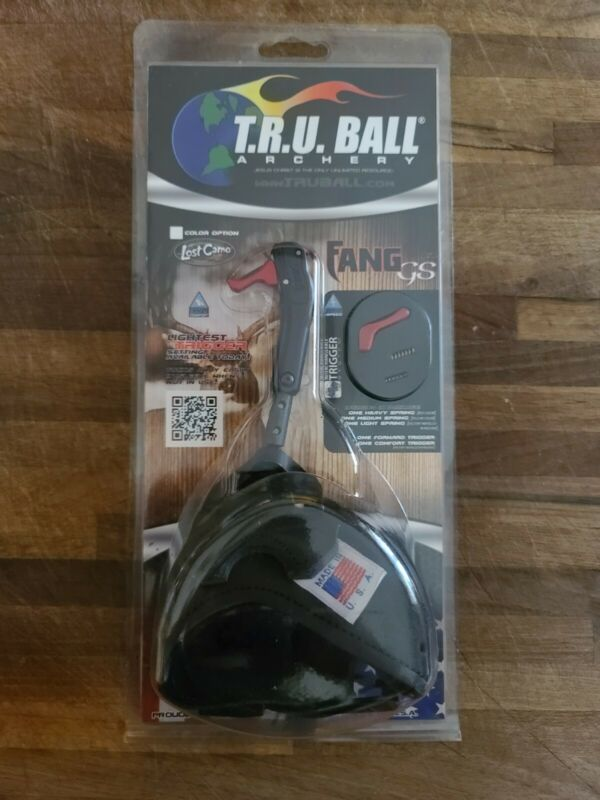 T.R.U. Ball Archery Index Finger Release Fang GS Interchangeable Trigger System