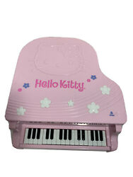 Sanrio Hello Kitty Grand Piano Cd Player Am/fm Stereo Digital Alarm Clock 2005