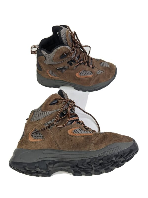 Vasque Breeze Youth 3M EUR 35 Brown Leather Waterproof Hiking Boots (7200)