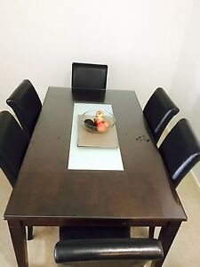 Dining table, Queen size mattress, Internal Air condition Strathfield Strathfield Area Preview