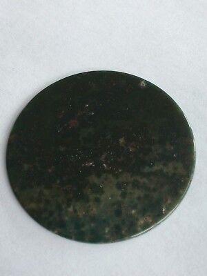 Genuine Gemstone Watch Dial/Disc - Indian Agate 40 MM