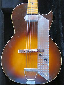 really cool 1960s vintage kay value leader electric guitar ebay. Black Bedroom Furniture Sets. Home Design Ideas