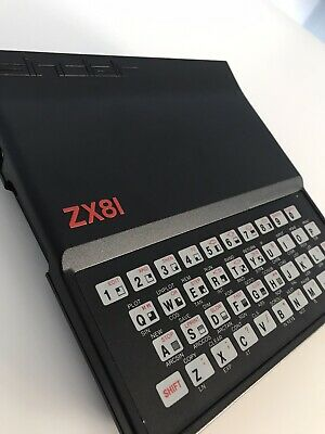 Sinclair ZX81 Vintage Computer - Excellent Condition, Boxed