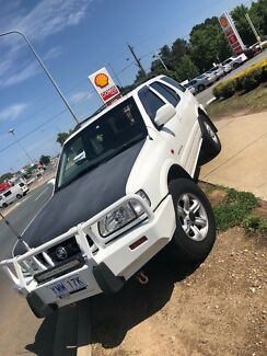 2002 Holden frontera Fyshwick South Canberra Preview