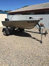 1978 Savage Alumacraft 3.43m Dinghy with 15hp Johnson Outboard Bedford Park Mitcham Area Preview
