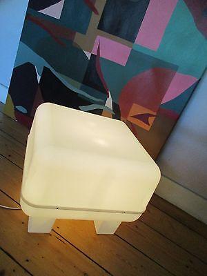 Seltener Leuchthocker-Leuchtobjekt-Beistelltisch-IKEA