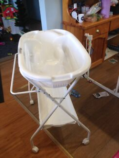 Baby bath and stand