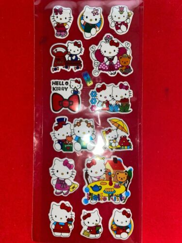 HELLO KITTY New In Package Stickers FREE SHIP! (G)