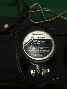 Pioneer TS-A4675R 4x6 car speakers for sale $60 OBO