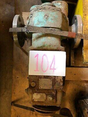 Waukesha 2.5 5060 Positive Displacement Pump W5 Hp Motor Gearbox Item 104