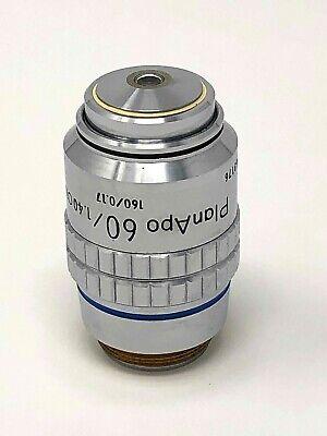 Nikon Planapo Cfn 60x 1.40 Oil 160 0.17 Microscope Objective Plan Apo