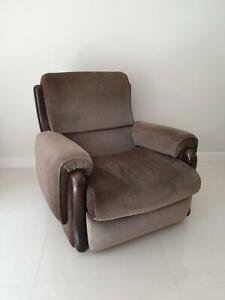 Brown Armchair | Armchairs | Gumtree Australia Kingston ...