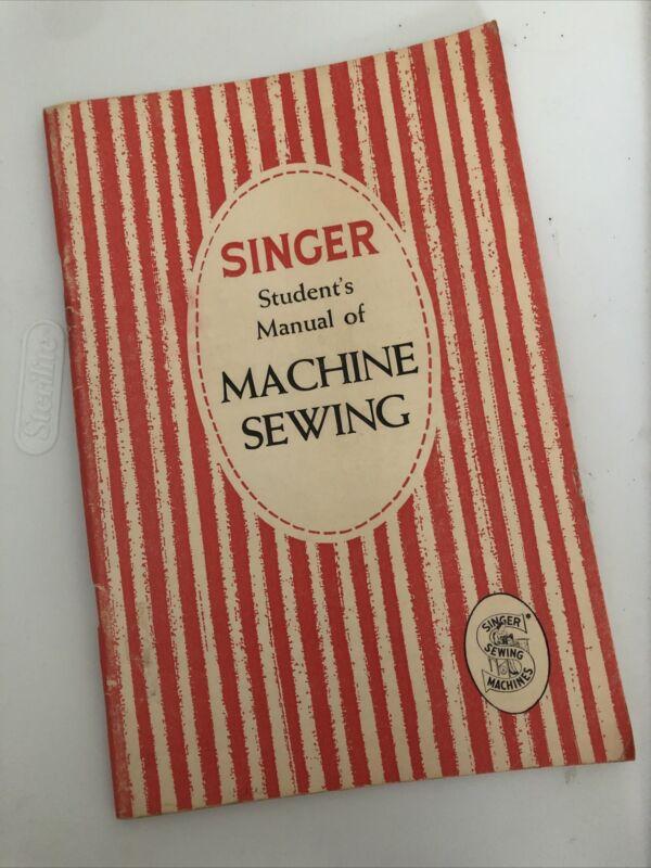 Vintage 1954 SINGER Student