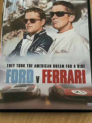 Le Mans '66 (Ford vs. Ferrari) [DVD] 2019 2020 Matt Damon, Christian Bale