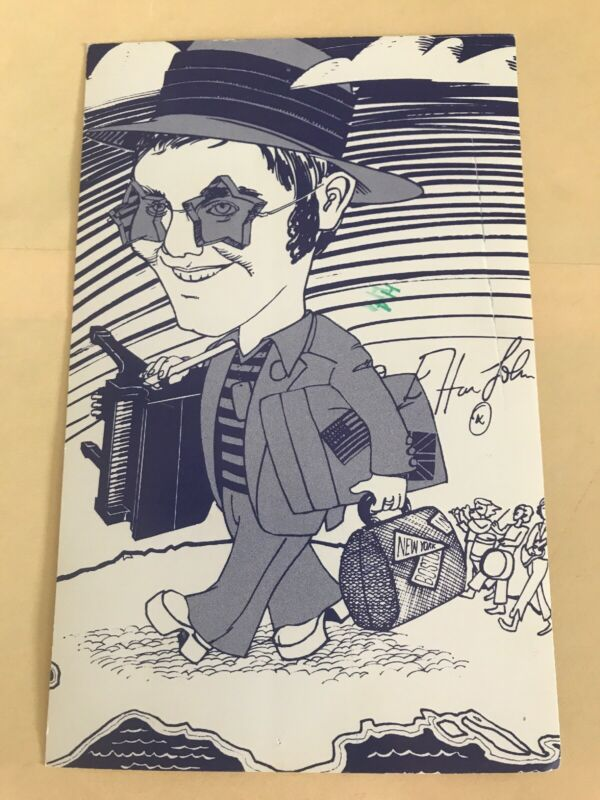 Elton John 1976 US Tour Postcard