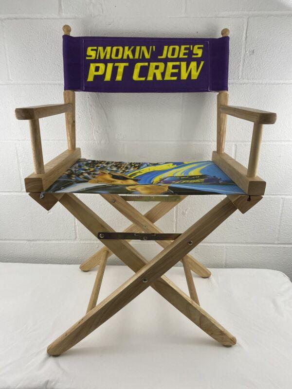 Smokin Joes Pit Crew Racing Joe Camel NASCAR Director Chair Vintage New