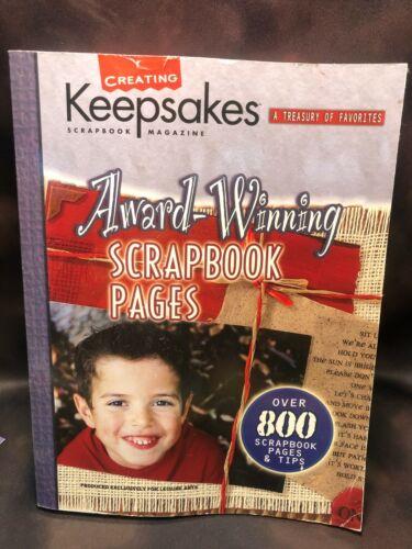Creating Keepsakes Scrapbook Magazine Book Treasury of Favorites Scrapbook Pages