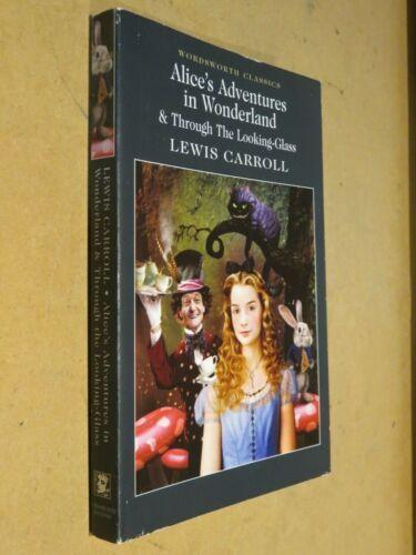 ALICE'S ADVENTURES IN WONDERLAND & THROUGH THE LOOKING GLASS Lewis Carroll di da