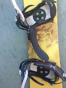 $80 ONLY for Burton bindings and board
