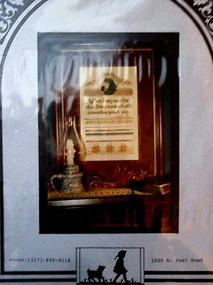 cross stitch Simply Stephie FREE SHIP The Star of Bethlehem Sampler Pearson