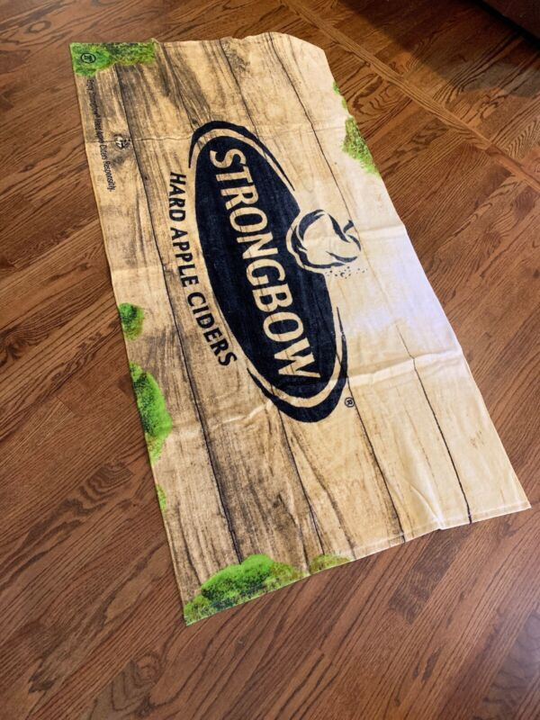 New Strongbow Hard Apple Cider Large  Beach Towel