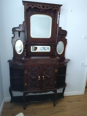 Mahogany Oak Chiffonier Edwardian or Georgian