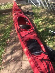 Necky Looksha V Sea Kayak with Carbon Fibre paddle Double Bay Eastern Suburbs Preview