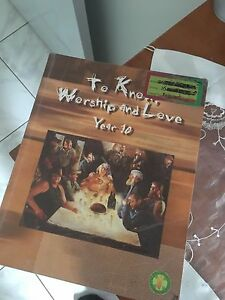 To know, love and serve religion textbook year 10 Merrylands Parramatta Area Preview