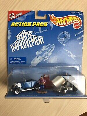 HOME IMPROVEMENT TV Series 1:64 2 Car w/figures HOTWHEELS Action Pack Brand New
