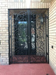 Gates  railings porch iron wrought iron