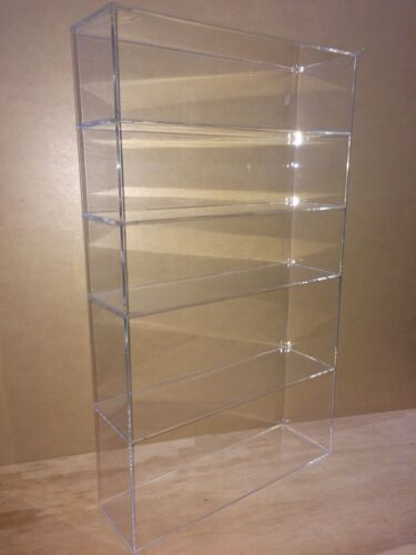 "Displays2buy Acrylic Countertop 14"" x 4 1/4"" x 24""h Display ShowCase Box Cabinet"