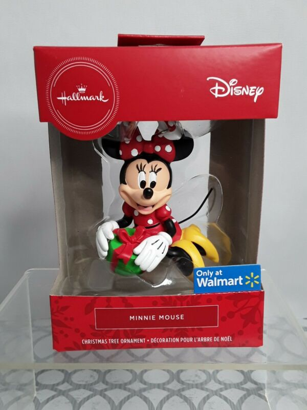 Hallmark Disney Minnie Mouse Christmas Tree Ornament New