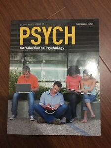 Introduction to psychology textbook third edition