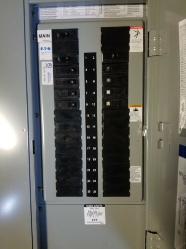 New GE A-Series II Electric Panel - 240V 1 PH 80A Main breaker - EZB2036R Box
