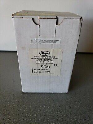Dwyer Instruments Dh-009 Digital Panel Meterpressure