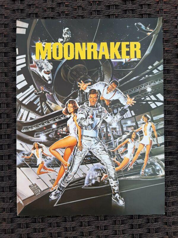 James Bond Moonraker 1979 Original Promotional Movie Press Book