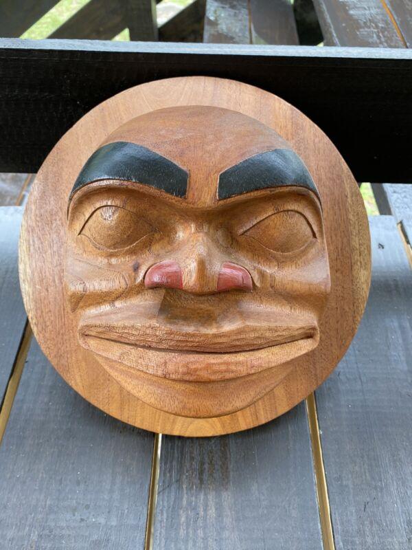 Northwest Coast Style Carved Big Mask