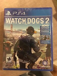 Brand new Sealed Watch Dogs 2