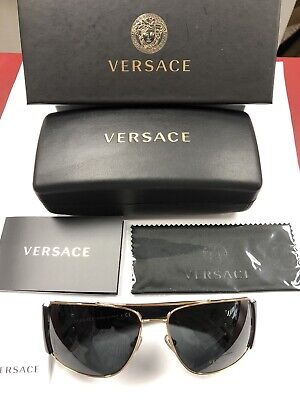 Versace Sunglasses Ve2163. Includes Case Cloth Box