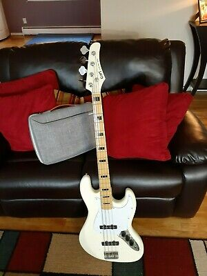 1984 Cort Jazz Bass, with Fender Jazz Bass Gig Bag, Made in Korea