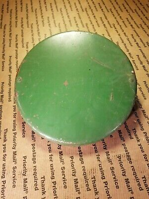 Original Antique John Deere Tractor Steel Axle Hub Wheel Tire Cap Covers Ay834bd