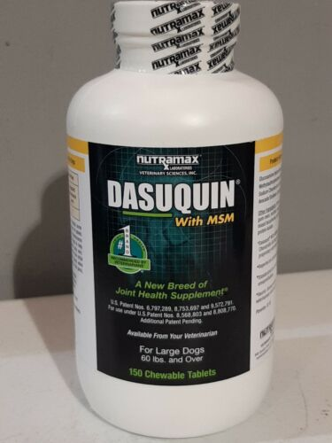 Nutramax Dasuquin With MSM For Large Dogs 60 Lbs Up , 150 Chewables - $39.99