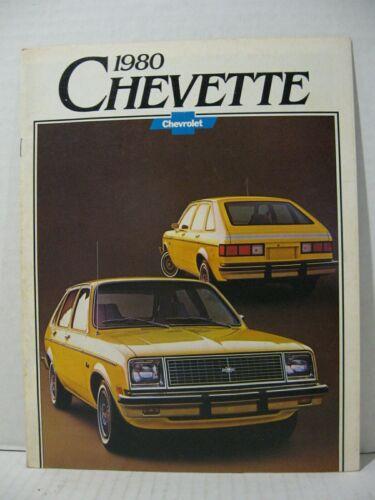 1980 Chevrolet Chevette Car Dealer Sales Brochure Catalog